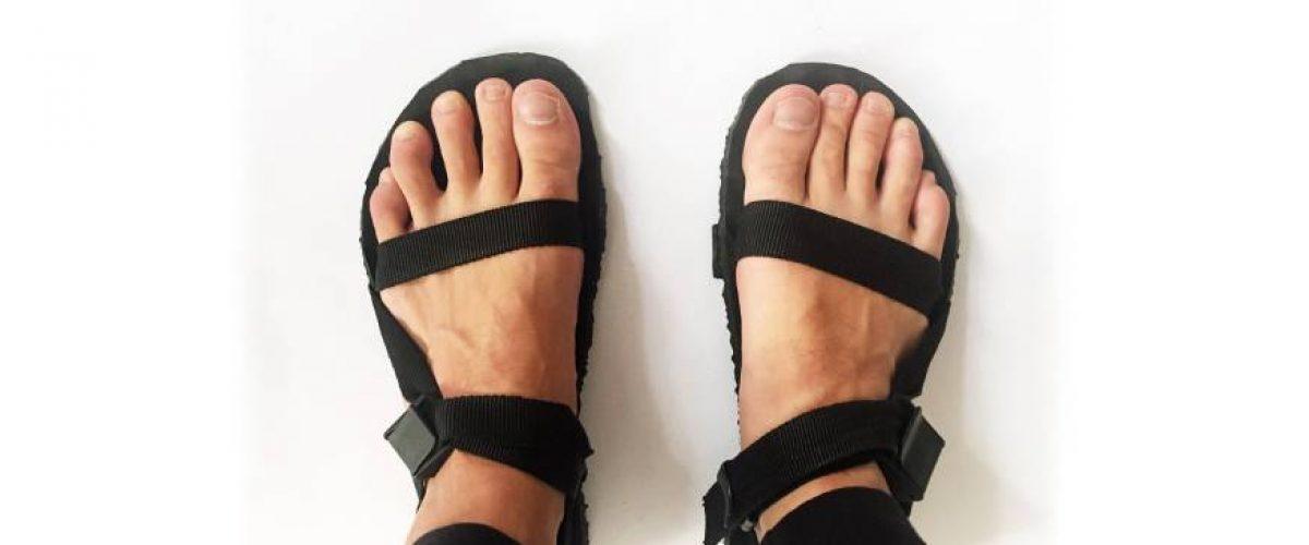 ultralight barefoot sandaly